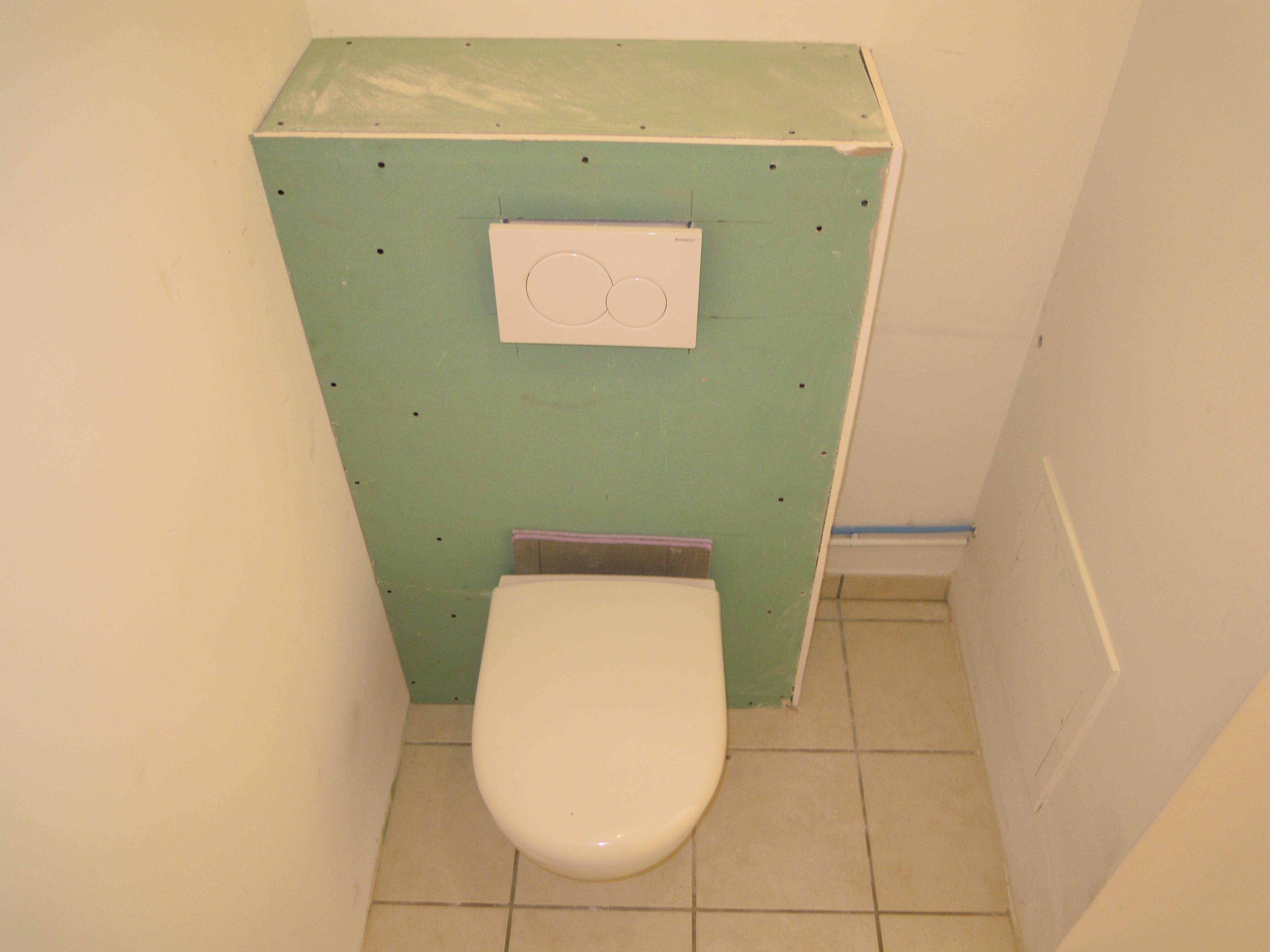Coffrage Wc Suspendu Avec Rangement remplacement wc traditionnel par wc suspendu – poitel